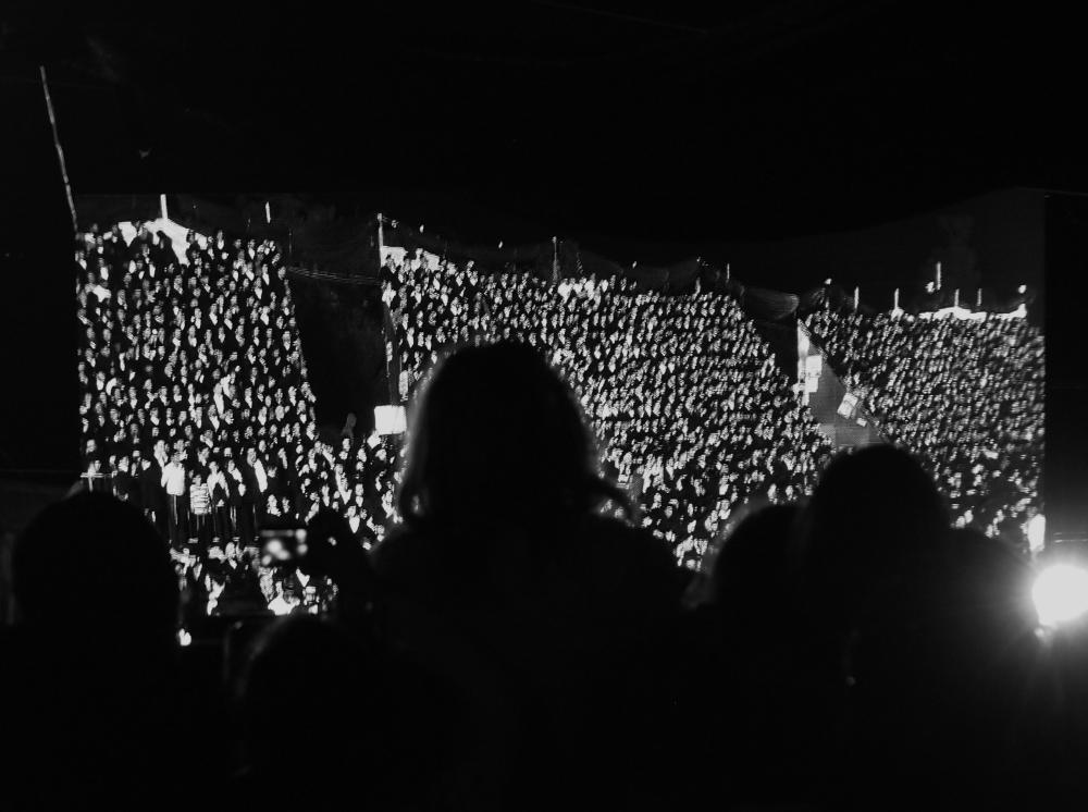 Lag BOmer Meron 2015 Crowds